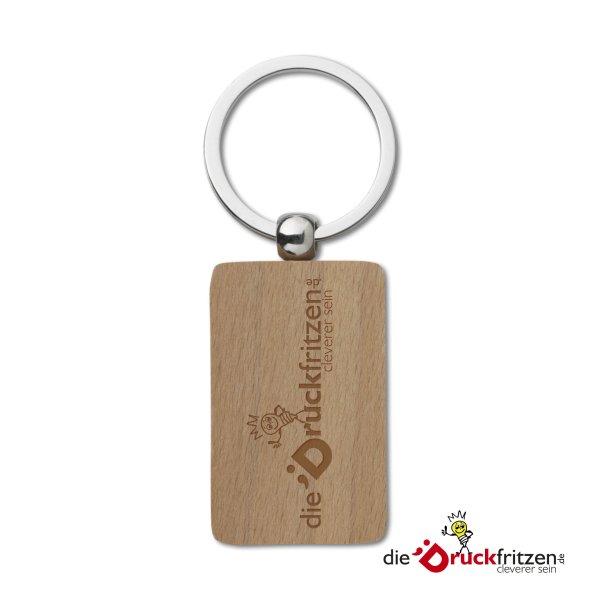 "Schlüsselanhänger aus Holz ""WOODKEY"""