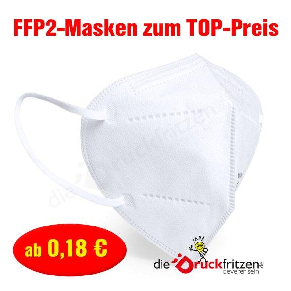 dieDruckfritzen.de - FFP2-Schutzmaske - weiß