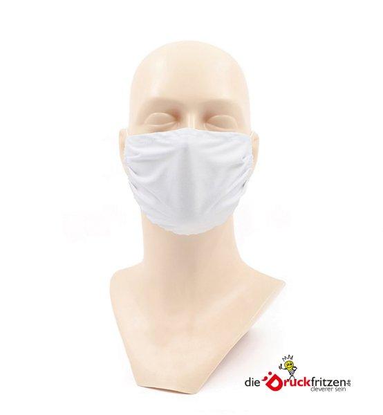 dieDrickfritzen.de - Gesichtsschutzmasken - weiß - unbedruckt
