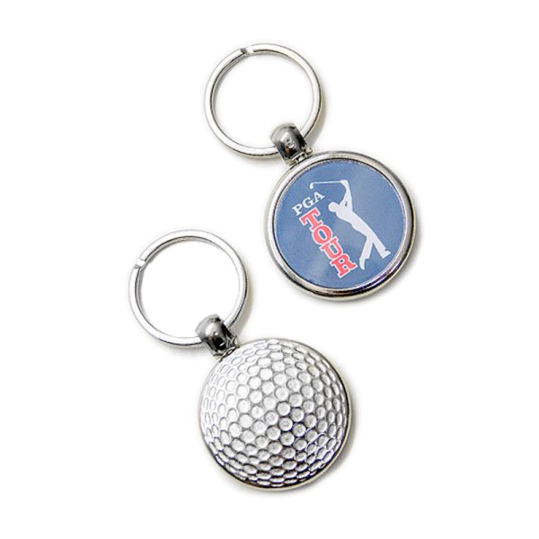 "Schlüsselanhänger ""Golf"" aus Metall"