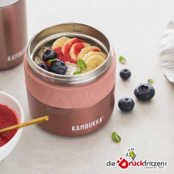 Lebensmittelbehälter KAMBUKKA® BORA - 400 ml | Rosa