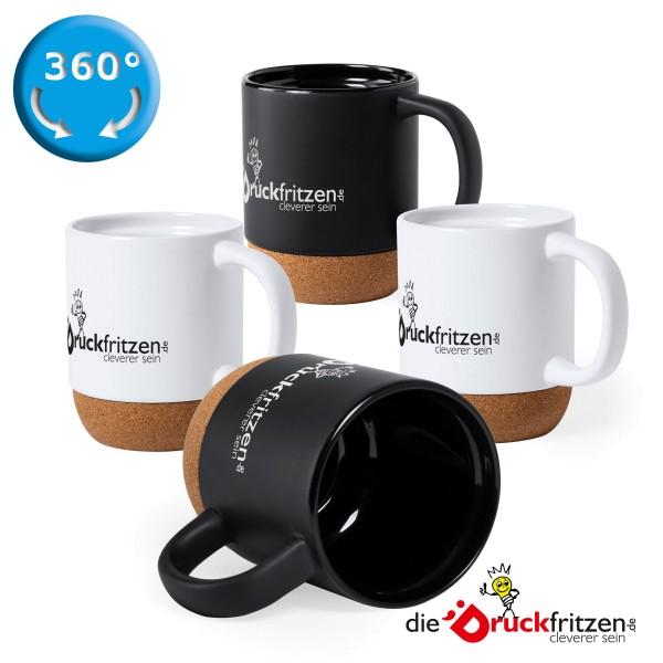 Keramik-Kork-Tasse Potsdam - 420 ml