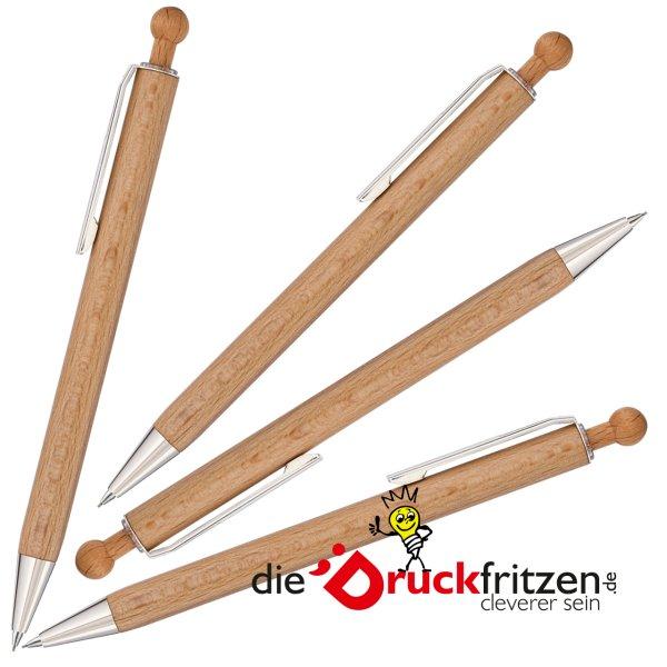 dieDruckfritzen.de - Holz-Druckbleistift WOODY B