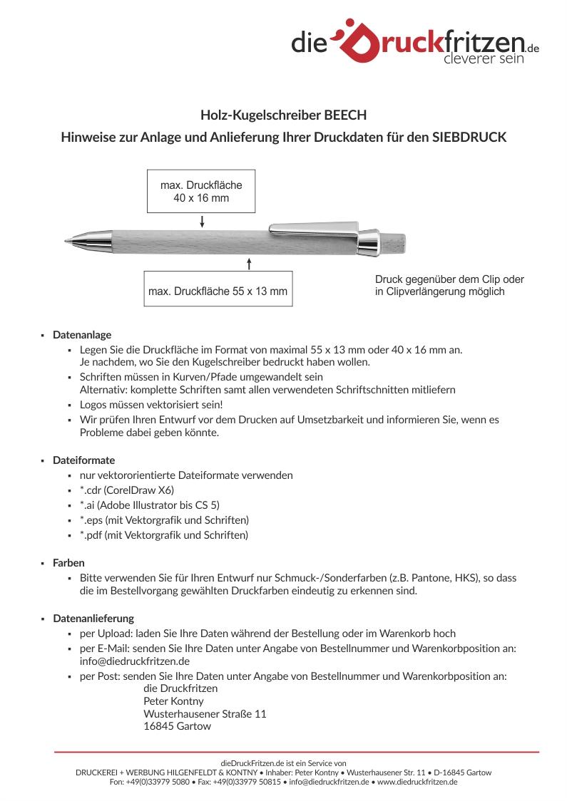 dieDruckfritzen_Datenblatt_BEECH_Sieb-Druck