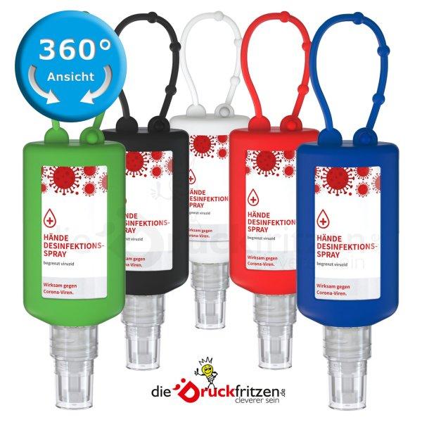 dieDruckfritzen.de - 50 ml Desinfektionsspray - Bumper