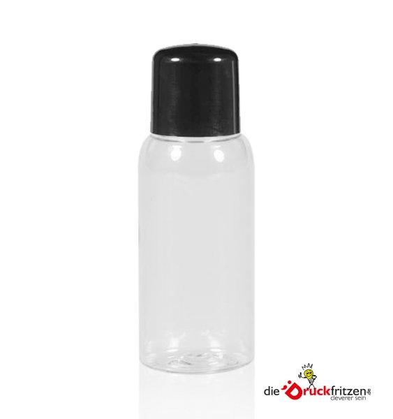 dieDruckfritzen.de - PET Flasche mit Deckel - 50 ml - klar