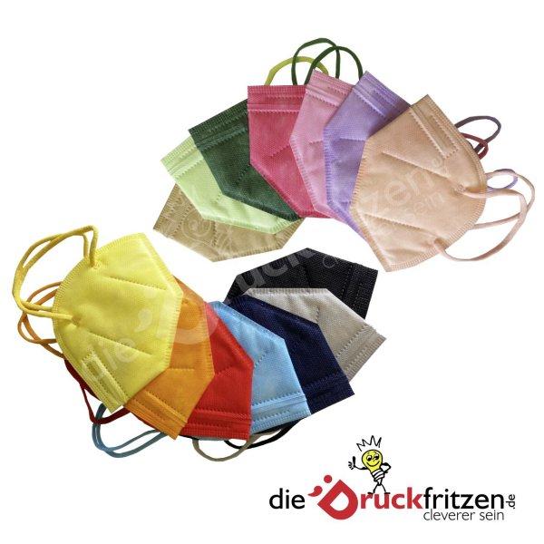 dieDruckfritzen.de - FFP2 Masken - farbig