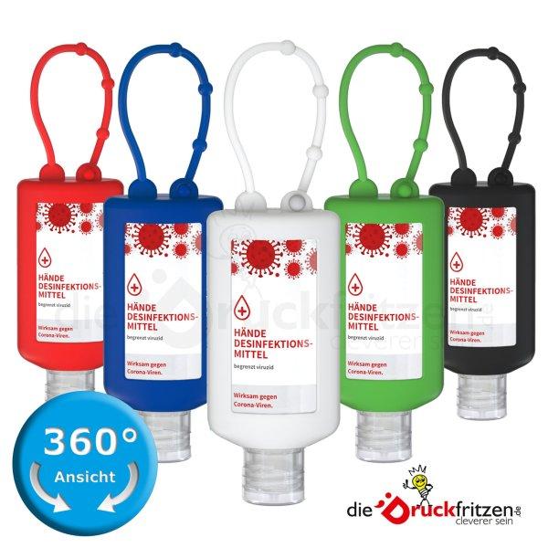 dieDruckfritzen.de - 50 ml Desinfektionsmittel - Bumper