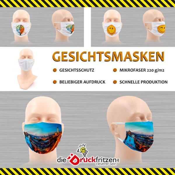 dieDrickfritzen.de - Gesichtsschutzmasken - blanko oder bedruckt