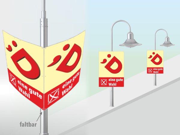 dieDruckfritzen.de - Hohlkammer-Faltplakate