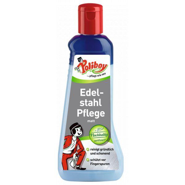 POLIBOY Edelstahl Pflege - 200 ml Flasche