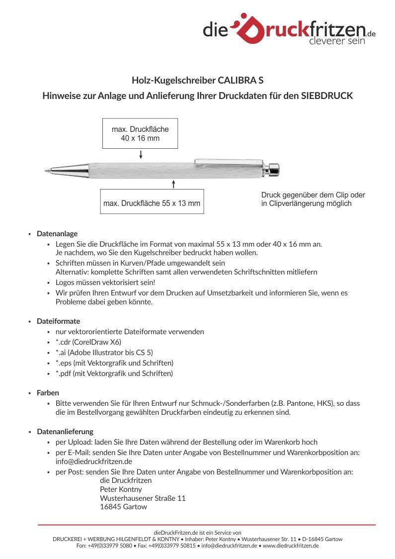 dieDruckfritzen_Datenblatt_CALIBRA-S_Sieb-Druck
