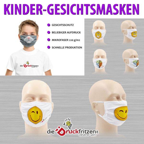 dieDruckfritzen.de - Kinder-Gesichtsschutzmasken