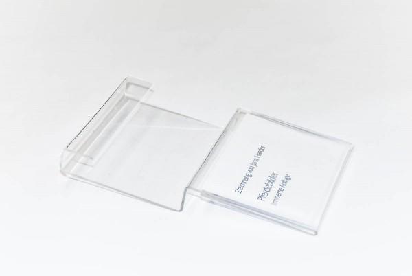 Klemmschild für 2 cm Keilrahmen