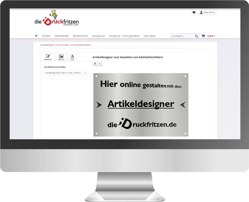 dieDruckfritzen-de_Artikeldesigner_Edelstahlschilder1