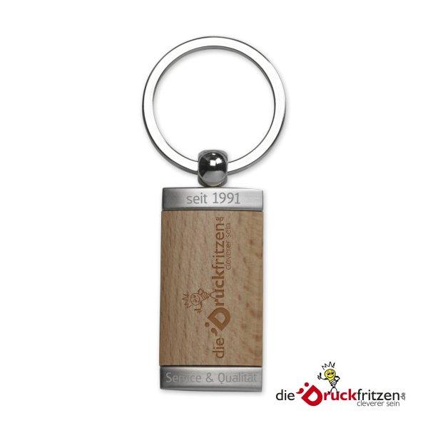 """dieDruckfritzen.de - Holz-Metall-Schüsselanhänger """"MIDWAY"""""""