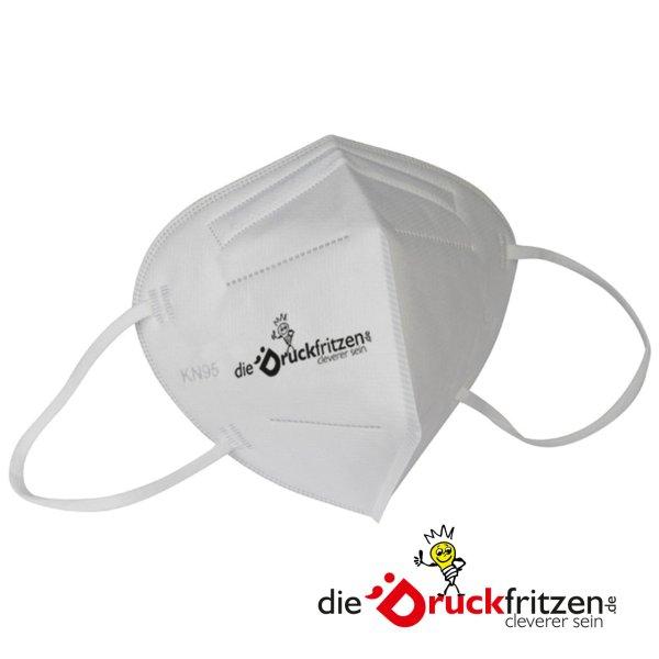 dieDruckfritzen.de - KN95 - Schutzmaske - einfarbig bedruckt