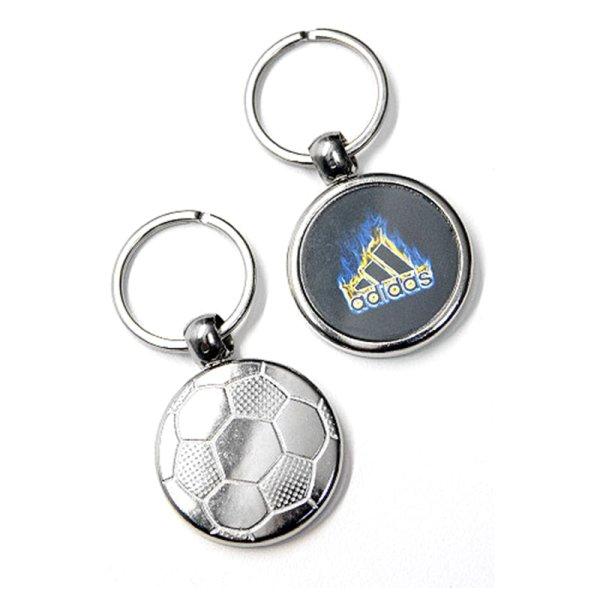 """Schlüsselanhänger """"Fußball"""" aus Metall"""